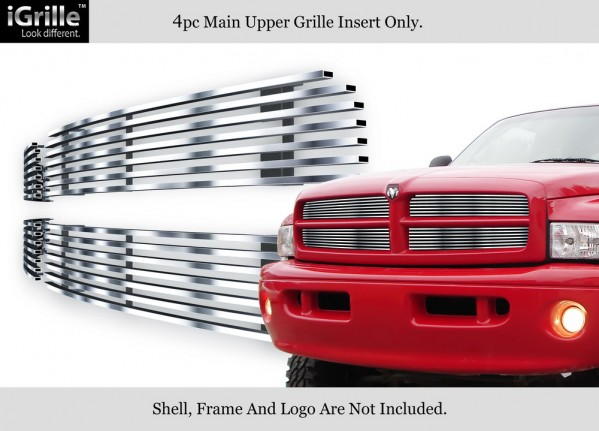 stainless steel billet grille inserts 99 01 dodge ram sport custom stainless steel 4 pc grille inserts 94 01 dodge ram 1500 sport custom stainless steel 4 pc grille inserts 94 02 dodge ram hd 3rd strike performance