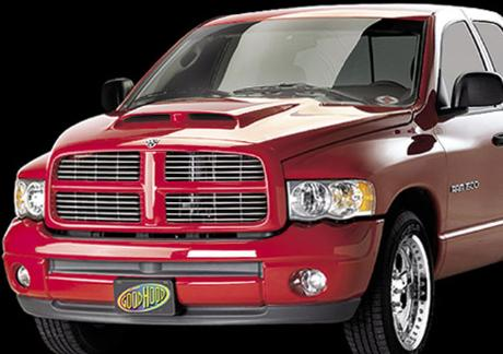 Good Hood Twin Scoop Ram Air Hood 02-08 Dodge Ram Diesel