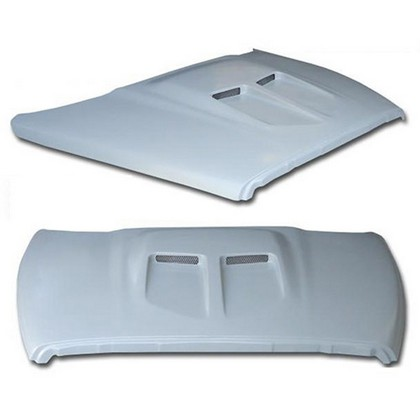 Fiberglass Super Rumble Bee SRB-70 Hood 02-08 Dodge Ram