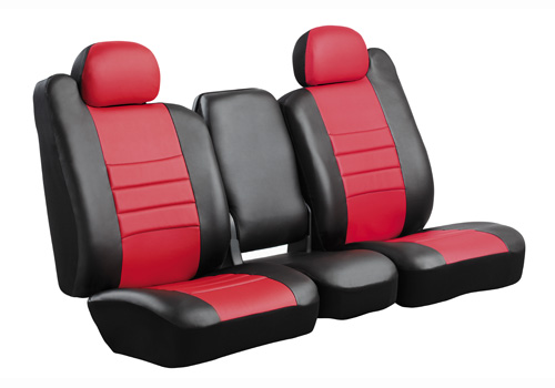 Fia LeatherLite Style Custom Front Seat Covers 02-08 Dodge Ram