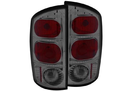 Anzo Smoked Lens Tail Light Set 02-06 Dodge Ram