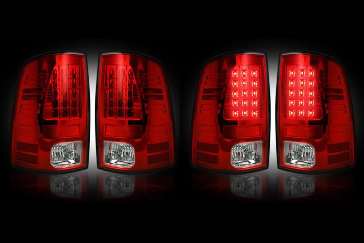 03-06 Dodge Ram 1500 2500 3500 Tailgate Tail Light Lamp 3Rd Brake Mopar Factory