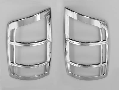 Putco Chrome Tail Light Covers 02-06 Dodge Ram