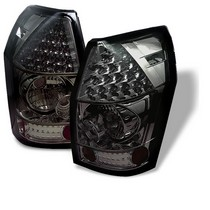 Spyder Smoke LED Tail Light Set 05-08 Dodge Magnum