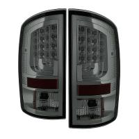 Spyder Version 2 Smoked LED Tail Lights 02-06 Dodge Ram