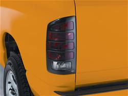 Auto VentShade Slotted Tail Light Covers 02-06 Dodge Ram