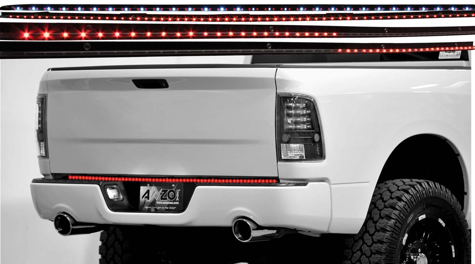 "Anzo 60"" LED Clear 5-Function Tailgate Light Bar"