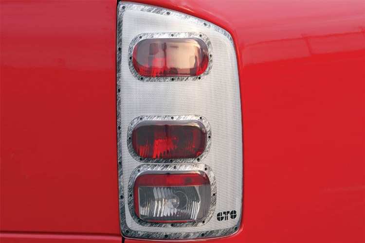 GTS Pro-Beam Platinum Tail Light Covers 02-06 Dodge Ram