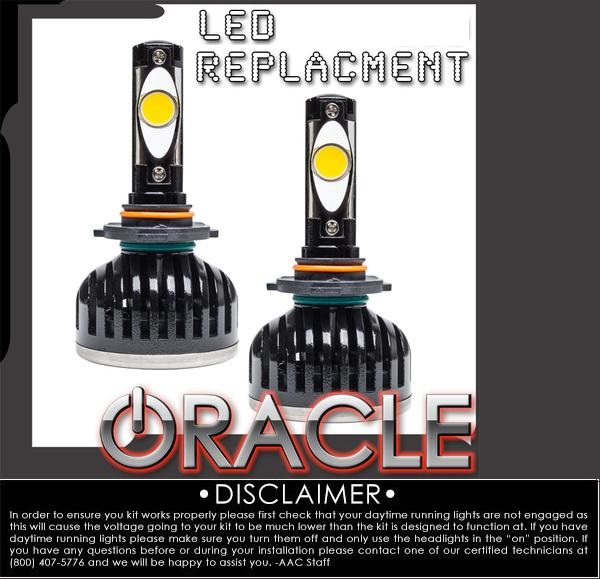 Oracle LED Headlight-Fog Light Replacement Bulbs