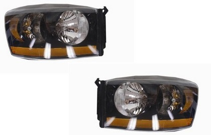 D-Lab Nightrunner Headlights 06-08 Dodge Ram