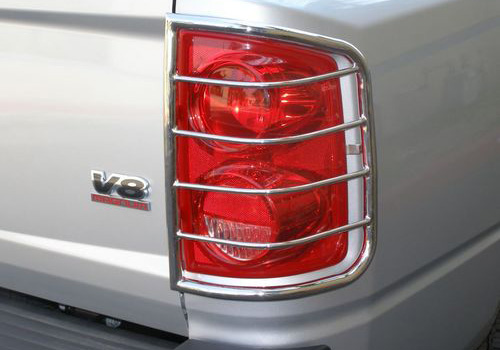 Steelcraft Polished Tail Light Guards 07-08 Dodge Ram