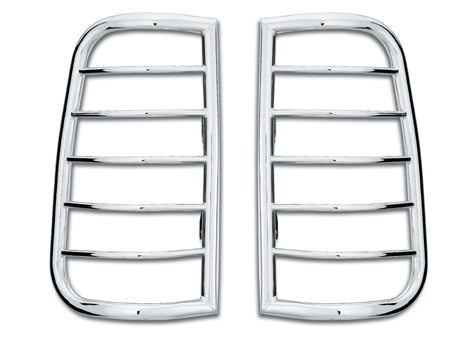 Westin Polished Tail Light Guards 02-06 Dodge Ram