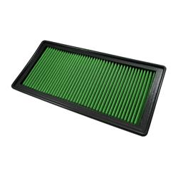 Green Filter Performance Air Filter Element 02-18 Dodge Ram