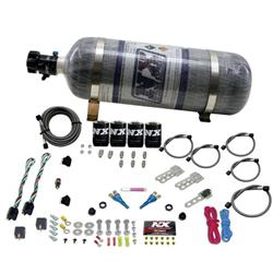 Nitrous Express Dodge EFI Dual Stage 12 LB System 100-300 HP