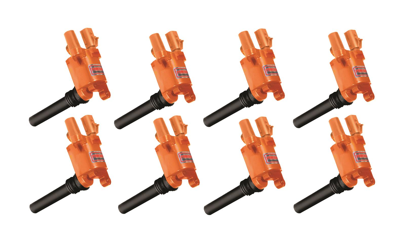 Powerfire Orange Ignition Coil Packs 03-05 Hemi 5.7