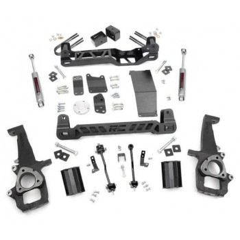 "Rough Country 6"" Lift Kit w-N3 Shocks 06-08 Dodge Ram 1500 4wd"
