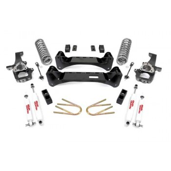 "Rough Country 6"" Lift Kit w-Shocks 02-05 Dodge Ram 1500 2wd"