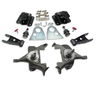 Belltech 2/4 Drop Spindle Lowering Kit 94-99 Dodge Ram 1500 2wd