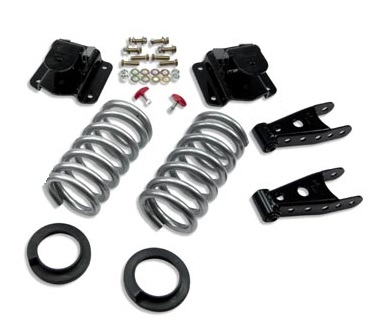 Belltech 2/3 Drop Spring Lowering Kit 94-99 Dodge Ram 1500 2wd