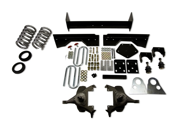 Belltech 4/6 Drop Spindle Lowering Kit 94-99 Dodge Ram 1500 2wd