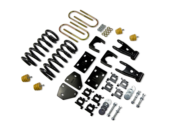 Belltech 2/5 Drop Kit 02-05 Dodge Ram 1500 QC 2WD