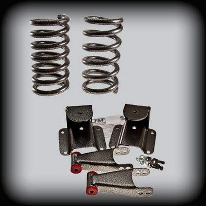 DJM Spring-Shackle 4/6 Drop Kit 94-99 Dodge Ram 1500 2wd