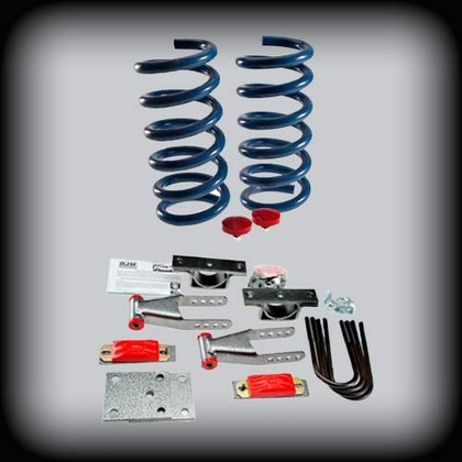DJM Spring-Shackle 2/4 Drop Kit 02-05 Dodge Ram 1500 2wd