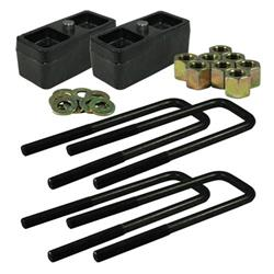 "Ground Force Universal 2"" Lowering Block Kit fits 2 1/2"" spring"