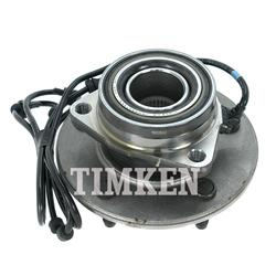 Timken Wheel Bearing Hub Assembly 00-01 Ram 1500 4WD 4WH ABS