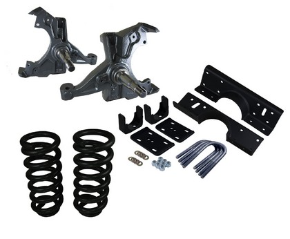 Western Chassis Deluxe 3/5 Drop Kit 94-00 Dodge Ram 1500 V8
