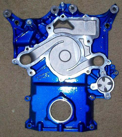 Powdercoating Service Timing Cover 03+ Dodge,Chrysler,Jeep Hemi