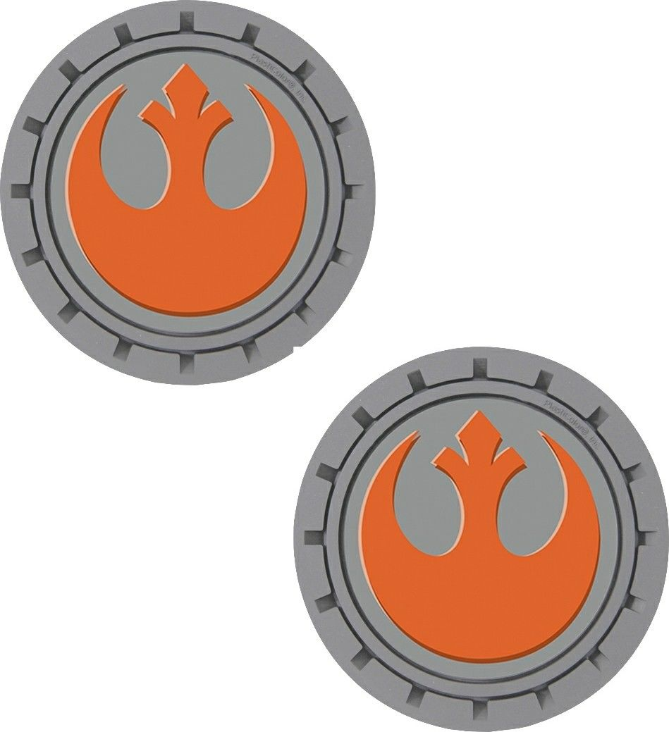 Plasticolor Star Wars Rebel Alliance Cup Holder Coaster Inserts