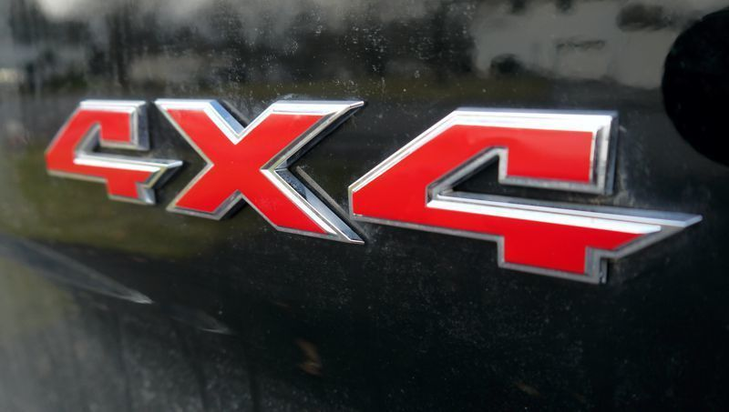"""4x4"" Emblem Decal Overlay Kit 2019 Ram Truck 4x4"