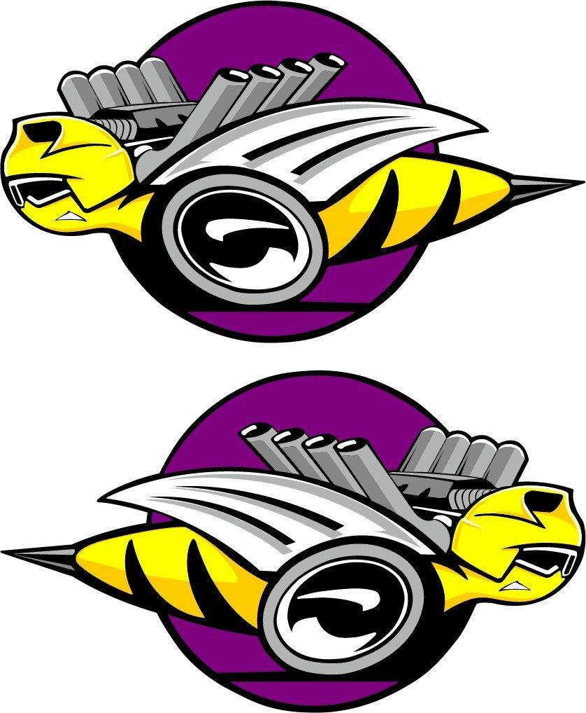 """Rumble Bee"" Bees Only Decals 04-05 Dodge Rumble Bee"