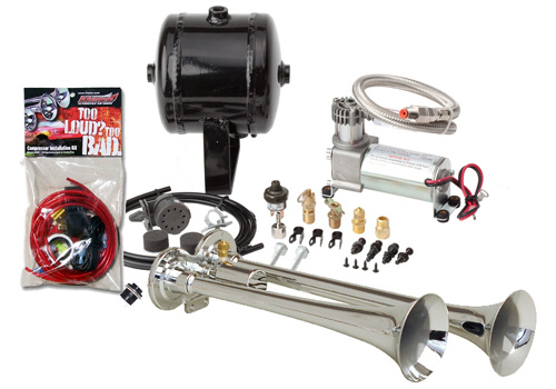 Kleinn 146db Truck Dual Air Horn Kit