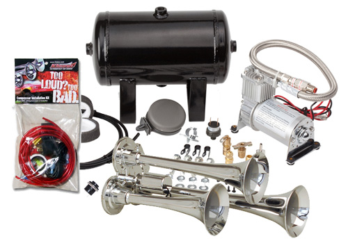 Kleinn 150.8db Triple Air Horn Kit