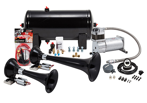 Kleinn 154.2db Dual Train Air Horn Kit