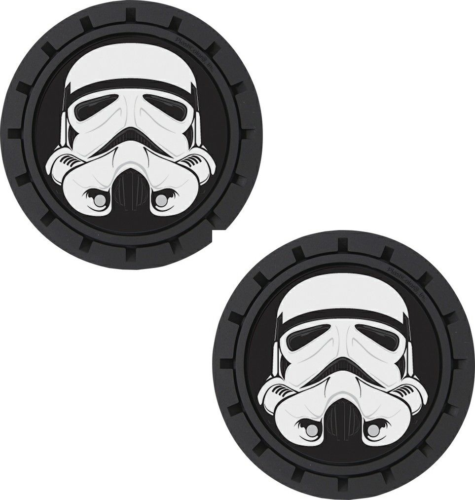 Plasticolor Star Wars Stormtrooper Cup Holder Coaster Inserts