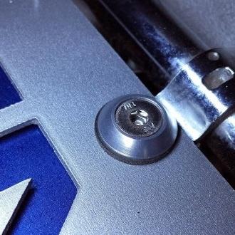 Chrysler Crossfire Engine Chrome Bolts, Chrysler Crossfire