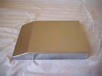 Custom Metal Fuse Box Cover 11-up dodge Charger, Chrysler 300