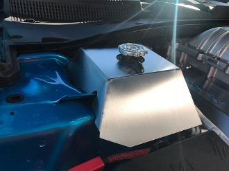 Custom Coolant Tank Cover 15-up Charger,Challenger Hellcat-Demon