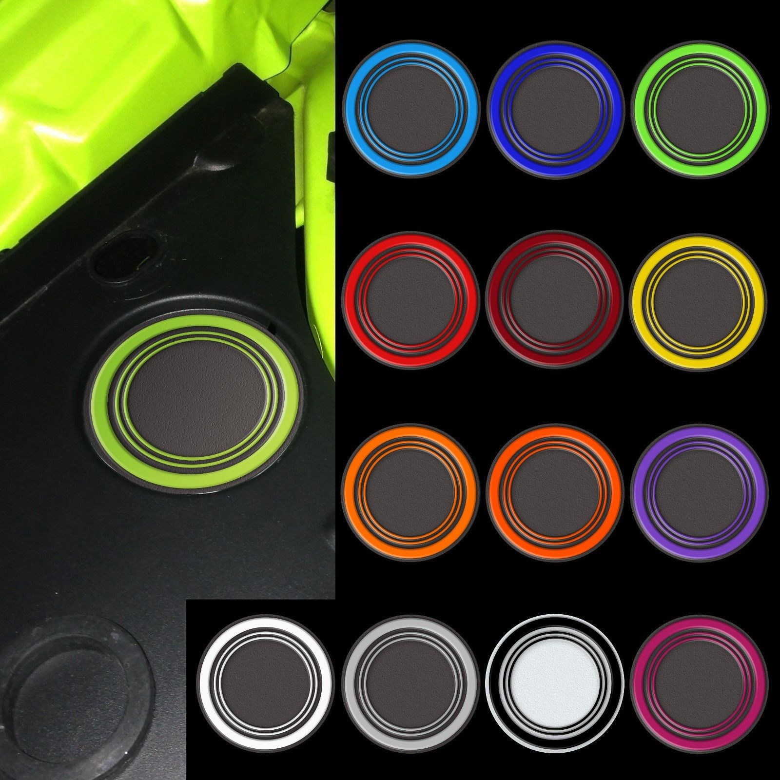 Color-Match Under Hood Beverage Holder Decal Kit