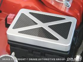 Billet-Carbon Fiber Fuse Box Cover 05-14 Challenger, LX Cars
