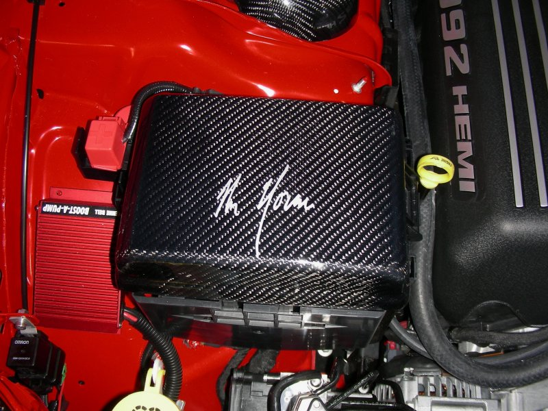 Mr. Norm's Signature Carbon Fiber Fuse Box Cover LX Cars