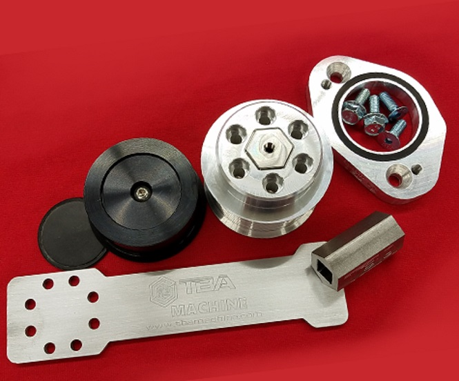 Billet Super Charger Pulley Combo Dodge-Jeep 6.2L Hemi