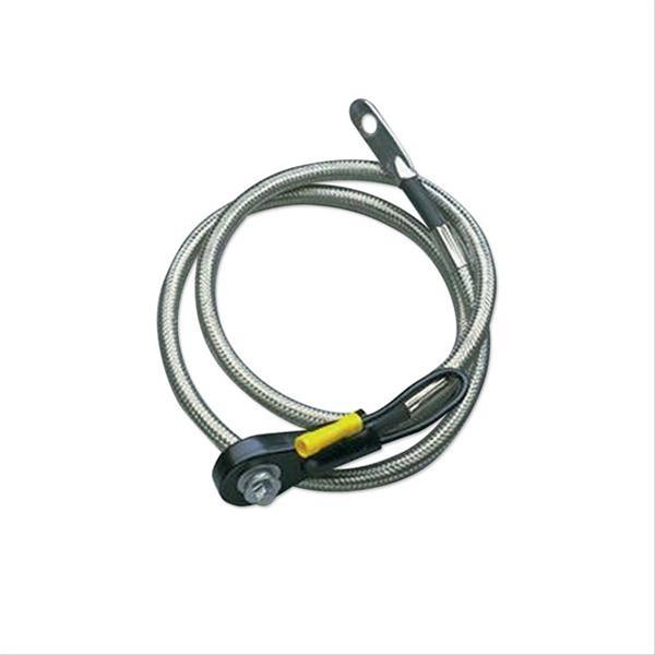 Taylor Diamondback Shielded 34 Inch Side Post Battery Cable