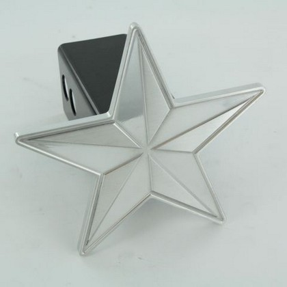 All Sales Billet Polished Nautical Star Hitch Plug