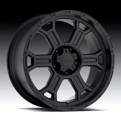 "Raptor 372 Matte Black-Machine Wheel 20""x9"" 02-up Dodge Ram 1500"