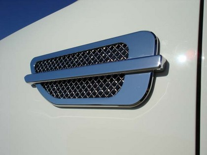 T-Rex ABS Chrome Plated Escalade Style Side Vents