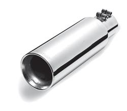 Gibson Performance 2.5 in. Polished Exhaust Tip 12.0 in. Long